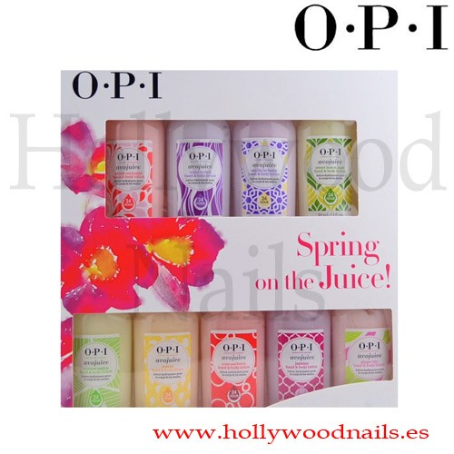 PACK OPI AVOJUICE 9 UNIDADES