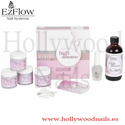 KIT ACRILICO EzFLOW HD FRENCH